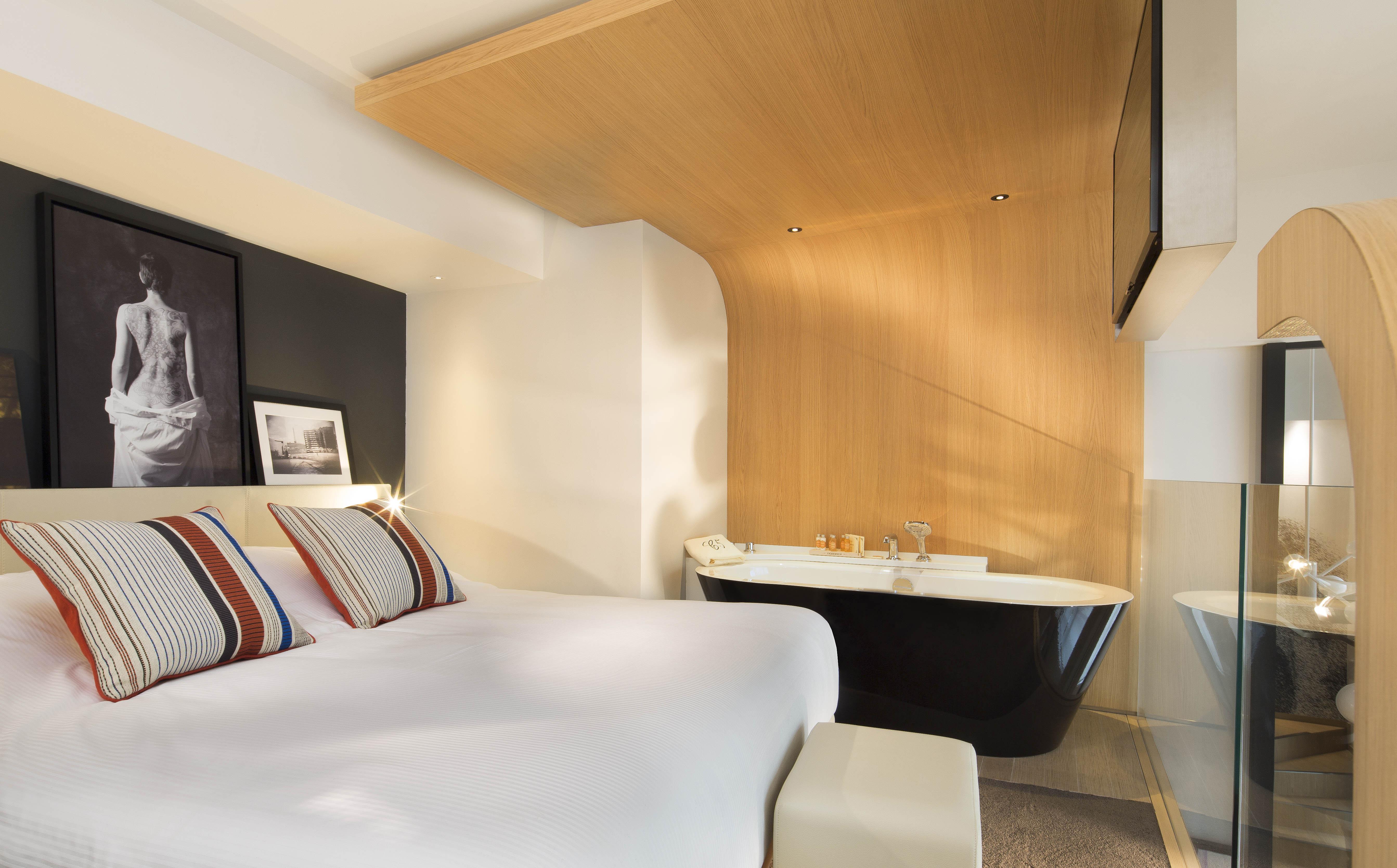 Jean-Philippe Nuel gestaltet das Hotel Le Cinq Codet in Paris ...
