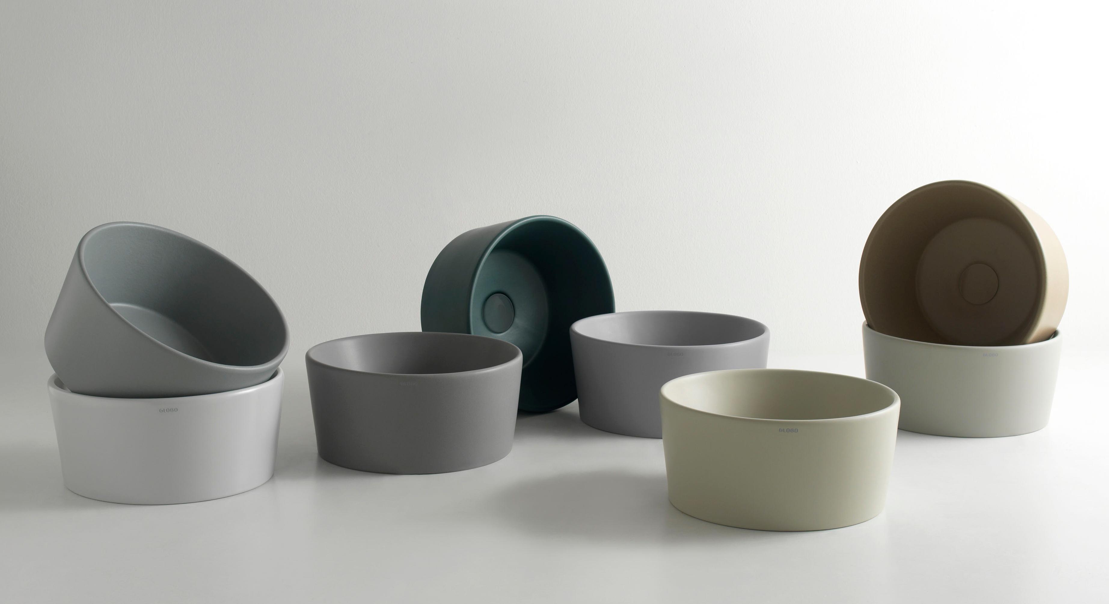 Globo Waschbecken the newest washbasin design at the ish 2017 stylepark
