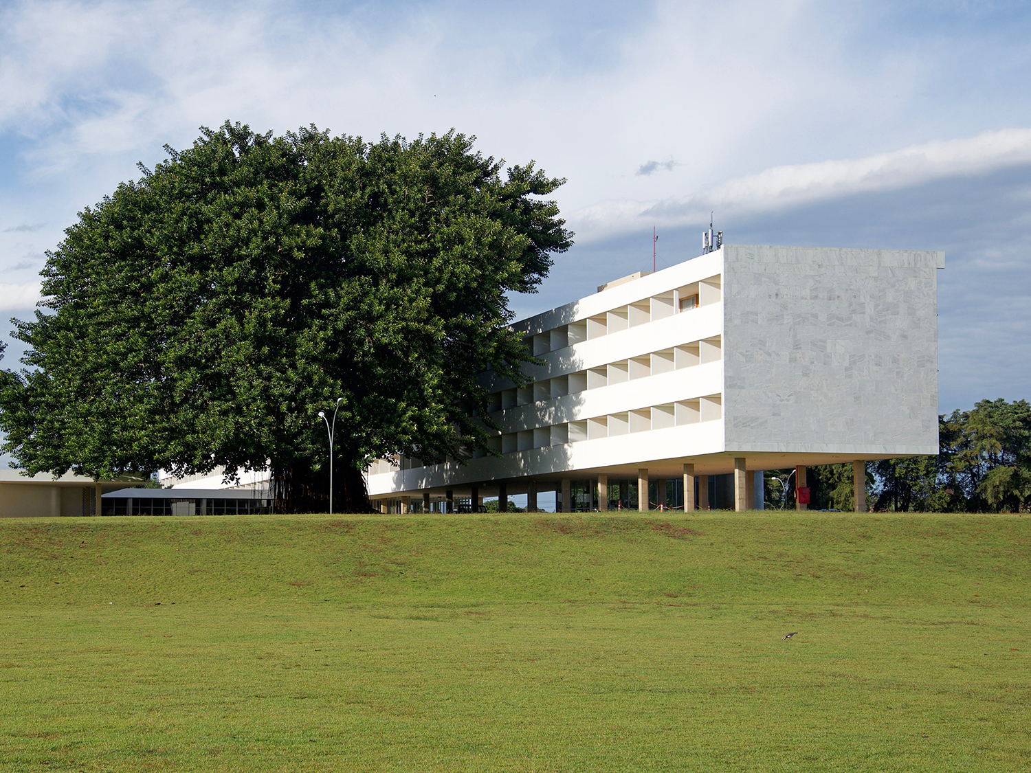 9c7b0e31c6ef7b Older than the tree  The Brasília Palace Hotel by Oscar Niemeyer was  completed in 1956 and has hosted guests such as Che Guevara ever since.