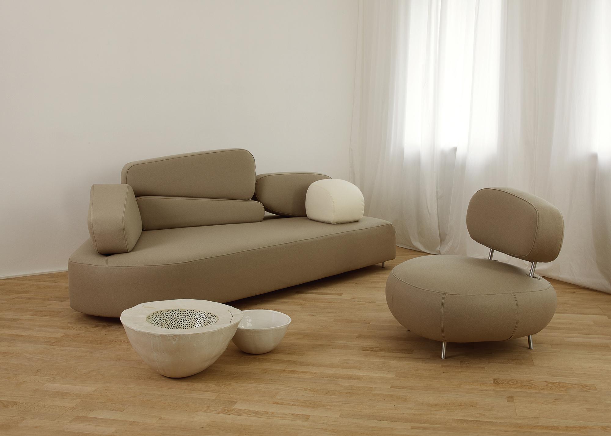 mosspink sofa von br hl stylepark. Black Bedroom Furniture Sets. Home Design Ideas