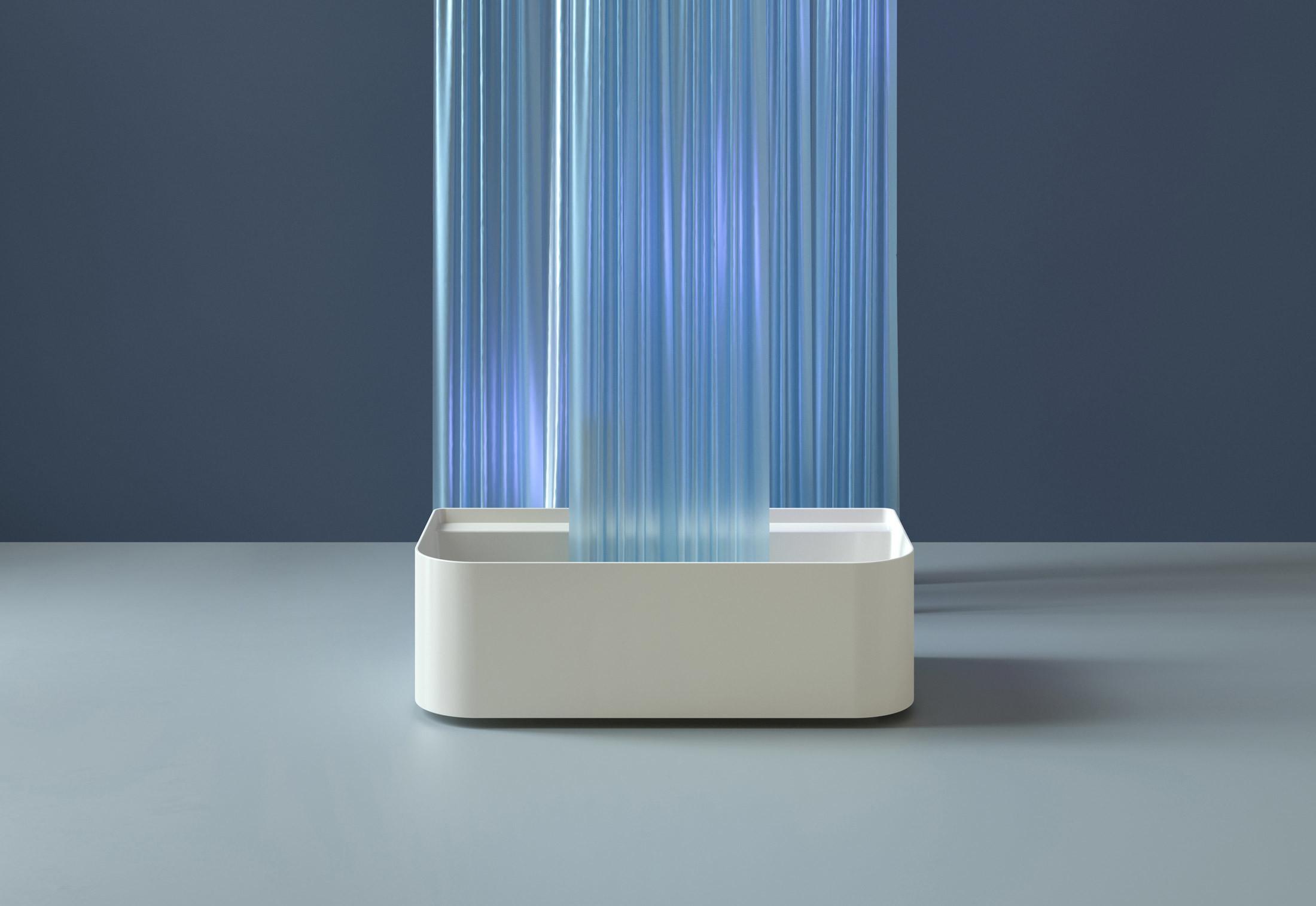 SaphirKeramik Sonar Freestanding bathtub by Laufen | STYLEPARK