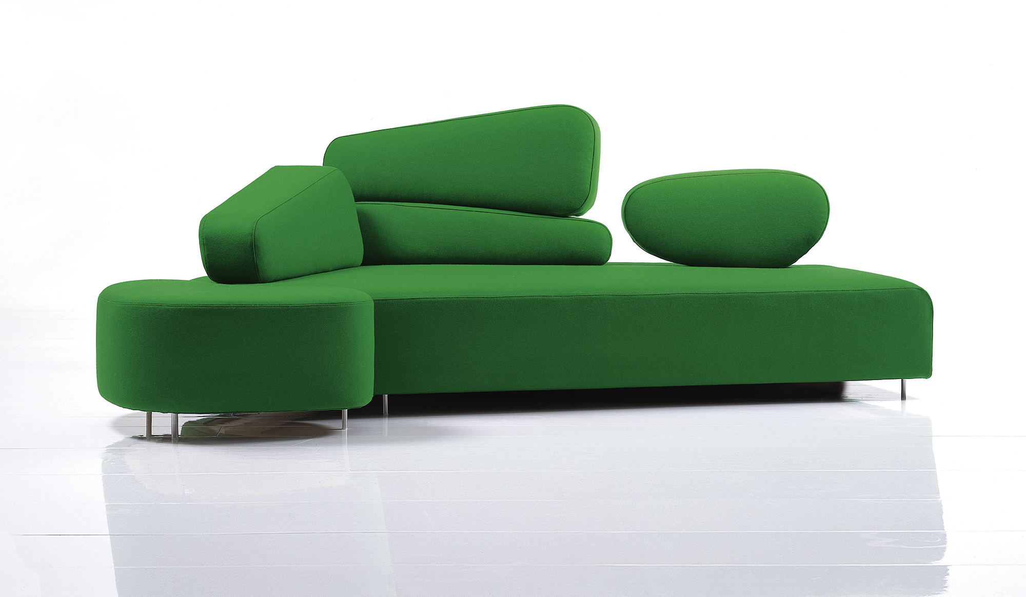 Schon ... Mosspink Sofa ...