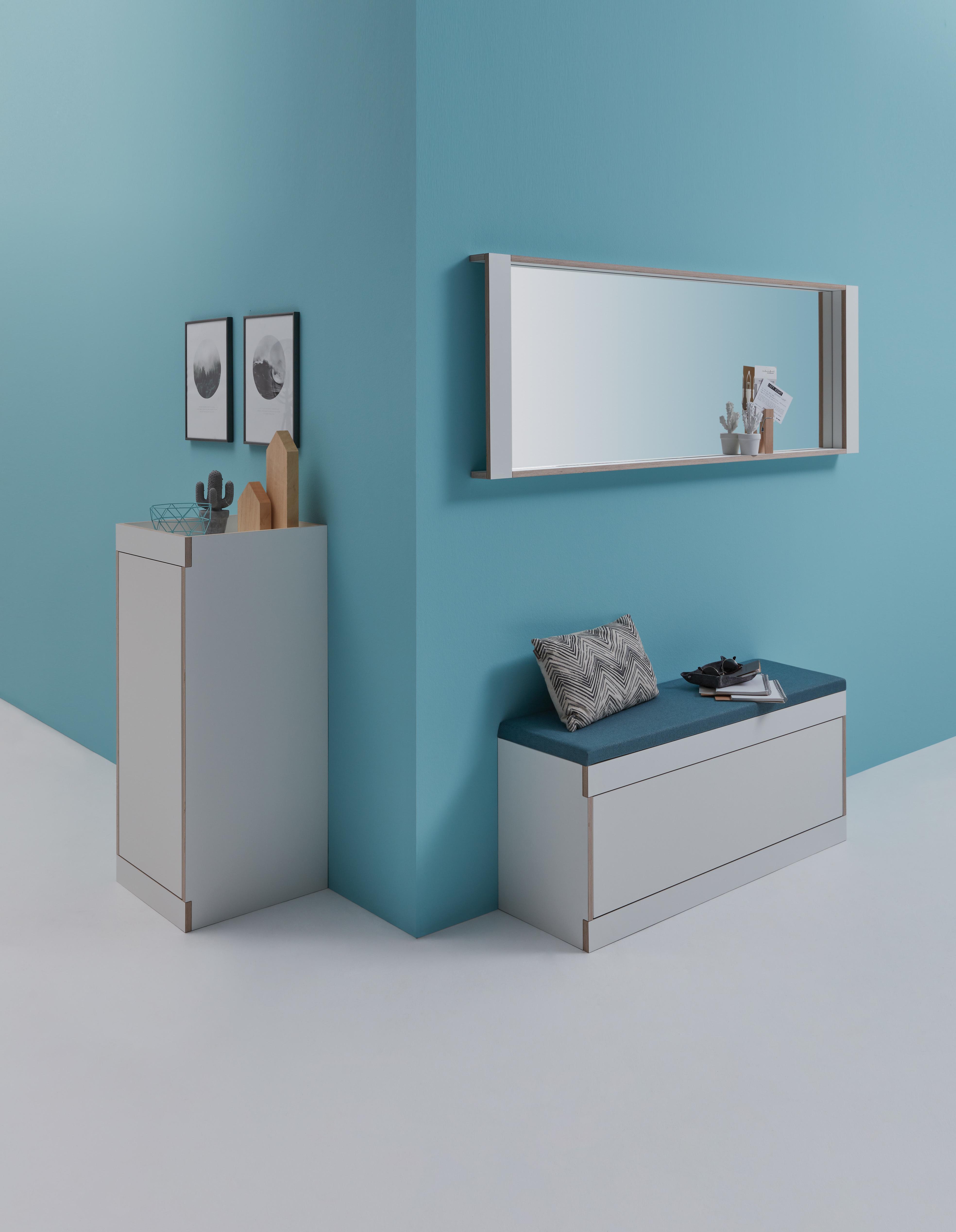 bank flur perfect wohnling sitzbank salim ziegenleder massivholz bank xx cm im retro stil er. Black Bedroom Furniture Sets. Home Design Ideas