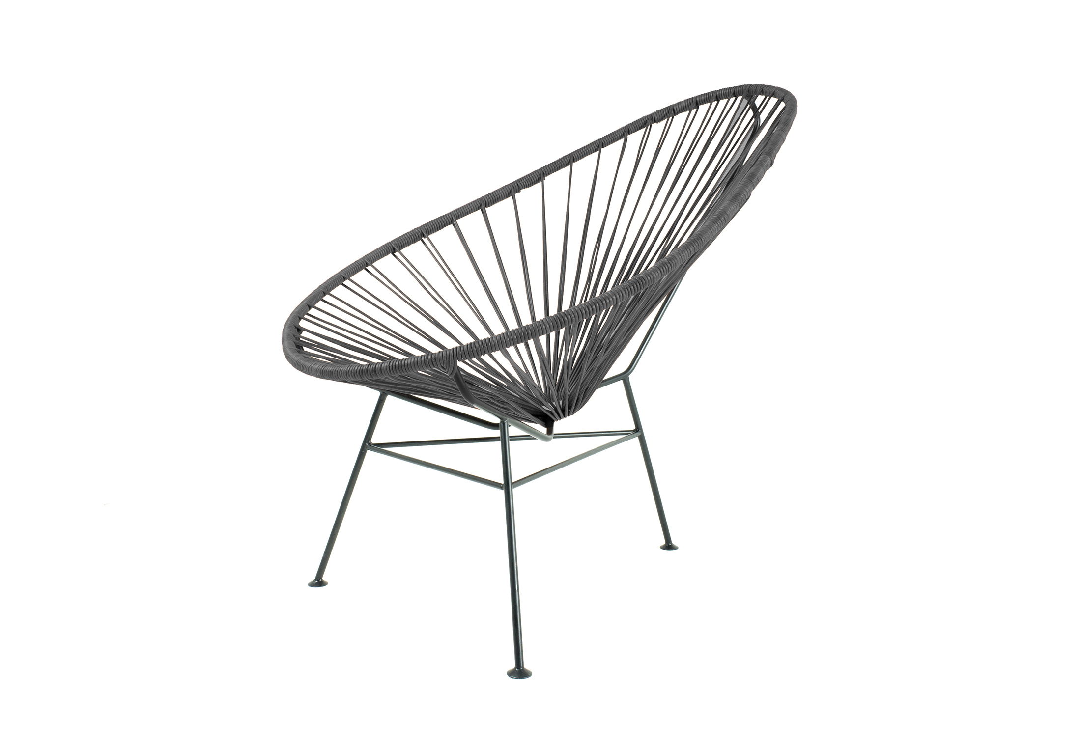 Acapulco Chair Leather Negro · Acapulco Chair Leather Negro ...