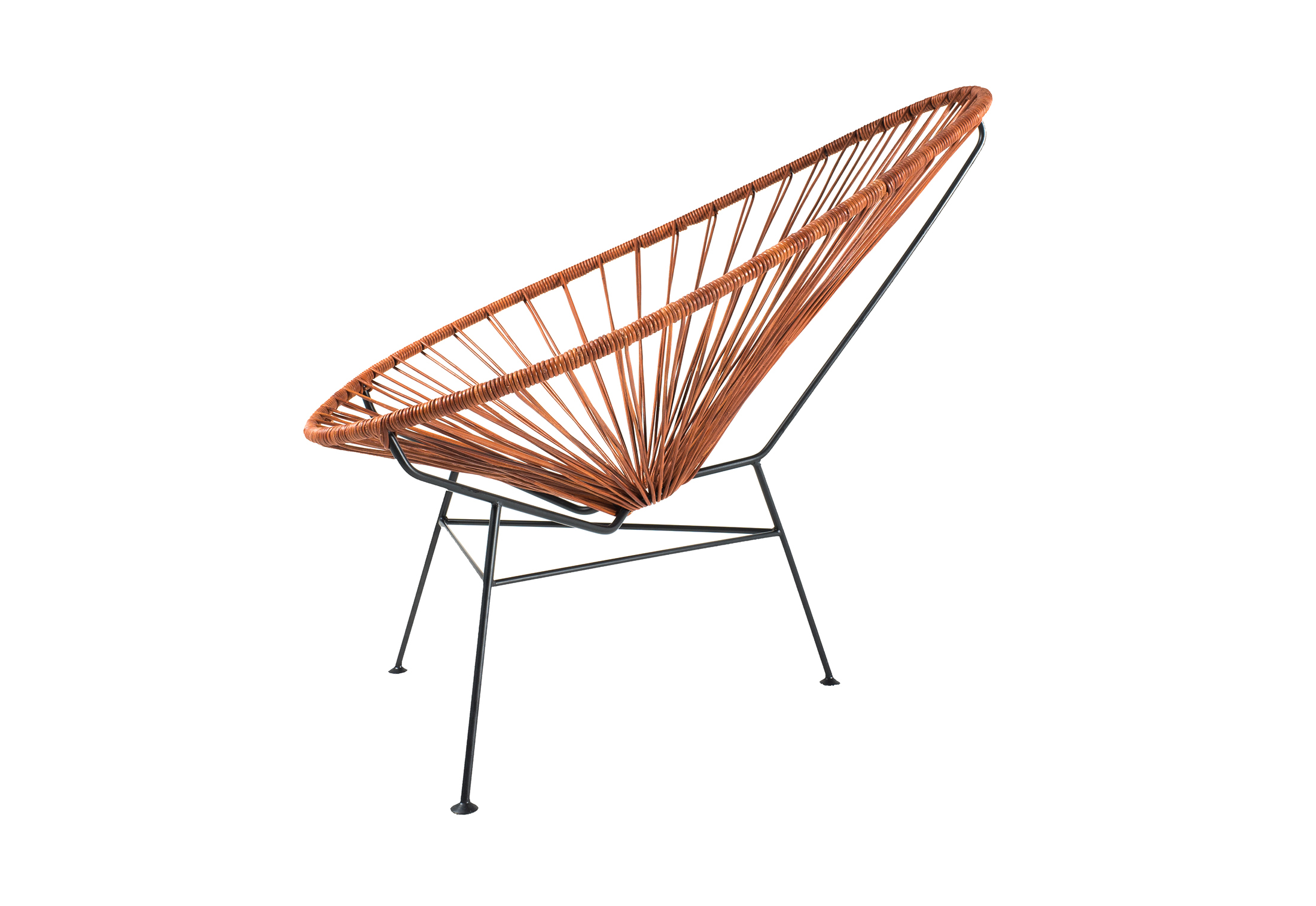 Outstanding Acapulco Chair Leather Cognac By Acapulco Design Stylepark Caraccident5 Cool Chair Designs And Ideas Caraccident5Info