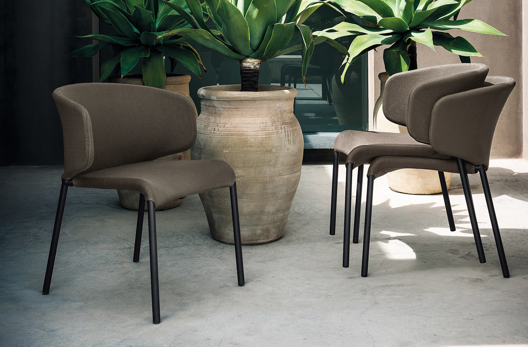 DOUBLE chair by Roda