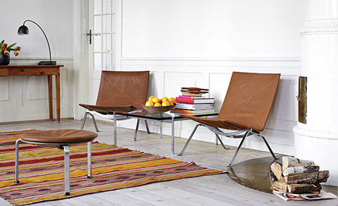 poul kj rholm 39 s pks by fritz hansen stylepark. Black Bedroom Furniture Sets. Home Design Ideas