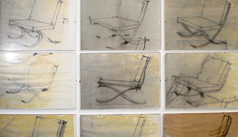 BAUHAUS CHAIR DRAWINGS