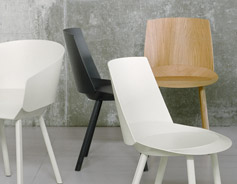 houdini a new chair by stefan diez for e15 stylepark. Black Bedroom Furniture Sets. Home Design Ideas