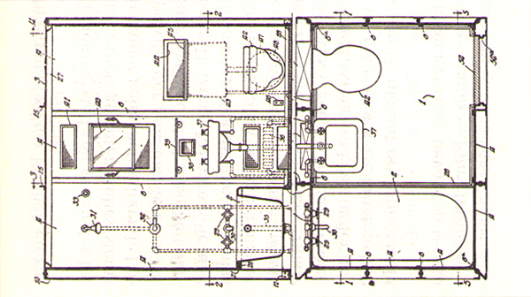 Emejing Technische Zeichnung Badezimmer Ideas - Erstaunliche ...