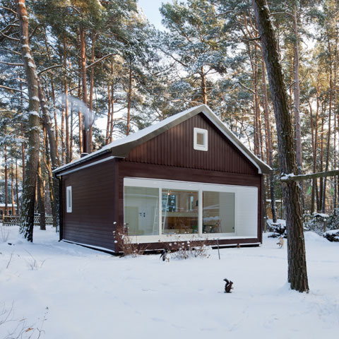 Originally A Simple Wooden House Built In 1926 Stood Here In A Pine Forest  Near Berlin All Photos © Werner Huthmacher, Berlin