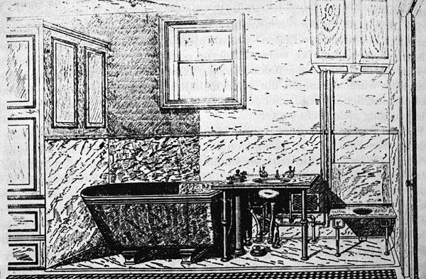 Das Englische Badezimmer Von W.E. Mason, 1901