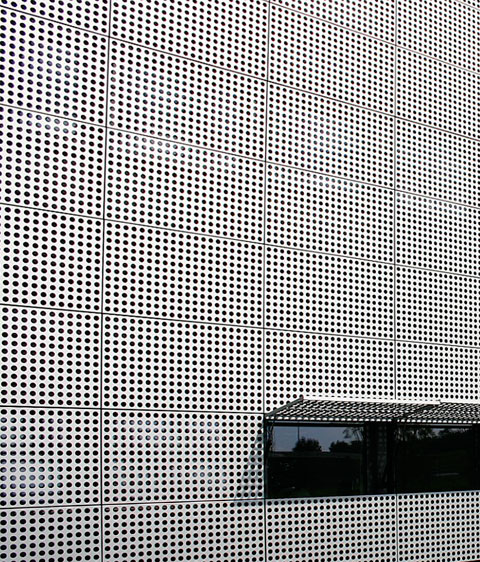 Perforated Sheet Metal To The Fore Stylepark