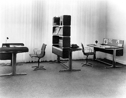 in 1964 robert probst and george nelson created the legendary action office 1 furniture series photo herman miller action office desk george