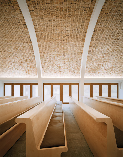 Architekten Aalen funeral chapel by kaestle ocker roeder architekten for forest