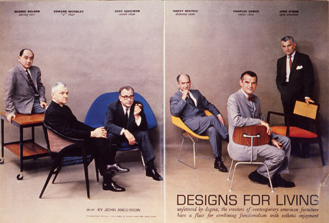 Studio Eames auf  Eames Plastic Chairs