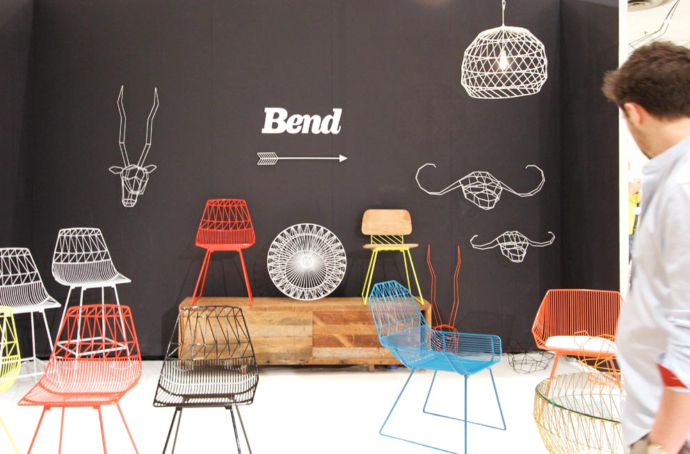 Clean And Playful Furniture For Indoor And Outdoor By Bend, A Los Angeles  Based Design And Manufacturing Company. Photo © Kerstin Baumgartner