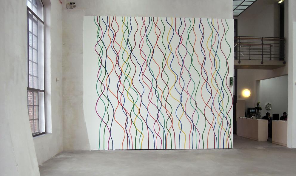 Wand verputzen muster wohn design - Verputzte wand streichen ...