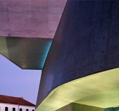 Zaha Hadid builds museums for herself
