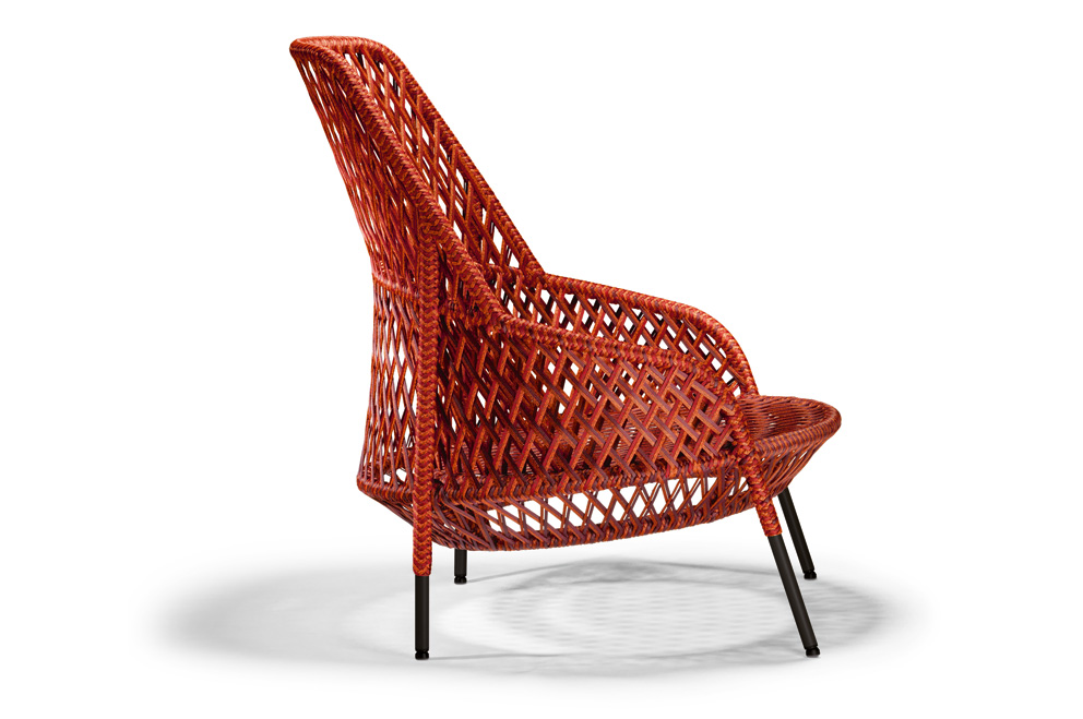 Inside, Outside Or Inbetween: The Lounge Chair U201cAhndau201c Is Not Only  Impressive, But Also Very Flexible. Photo © Dedon; Photo Above © Stephen  Burks/Dedon