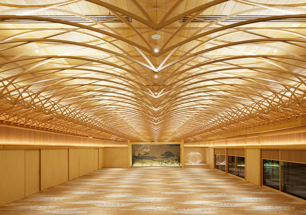 Mr hashimoto s chou chou effect stylepark for Marriage hall interior designs