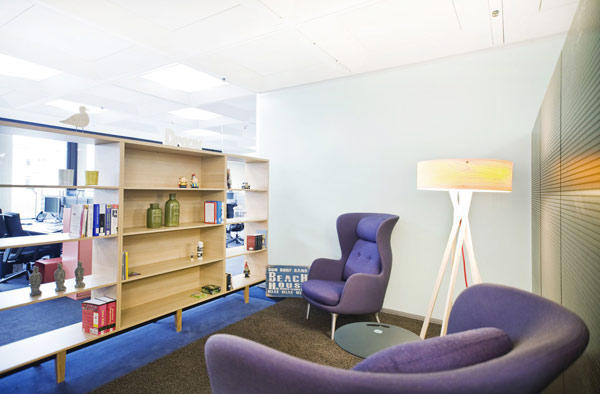 Also A Good Place To Work: Flexible Offices Need Quiet Zones For Focused  Contemplation Or Reading. Photo © Total Office Management AG
