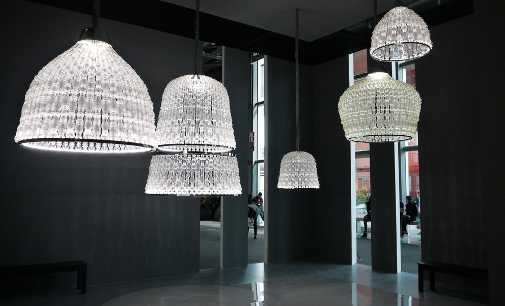 New lighting technologies meets traditional companies u2013 like Ital& where designer Marco Piva integrated LEDs in his new u201eCrownsu201c. Photo © Sarah Böttger & Light emotions | STYLEPARK azcodes.com