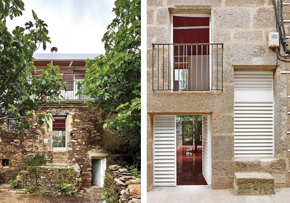 innenhof spanischer hauser studio arquitectura g fa 1 4 r sein haus luz ein einfamilienhaus das auf den umbau einer bestehenden struktur in dem spanischen ort cilleros zura ckging spanisc