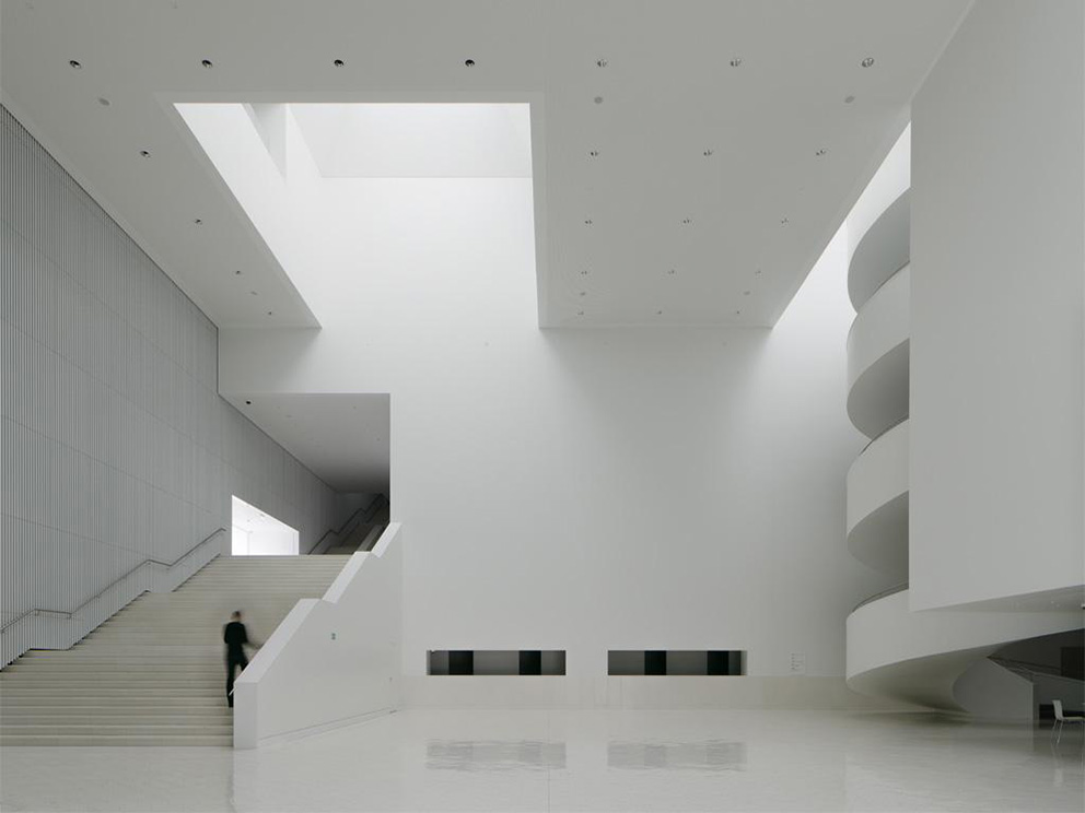 The Wide Foyer Can Be To Host Events Building Is Configured By A Synthetic But At Same Time Complex Volume Which Resolved Through