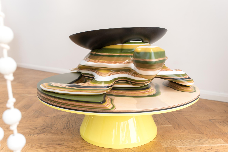 Hella jongerius exhibition at galerie kreo in london stylepark turtle coffee table geotapseo Gallery