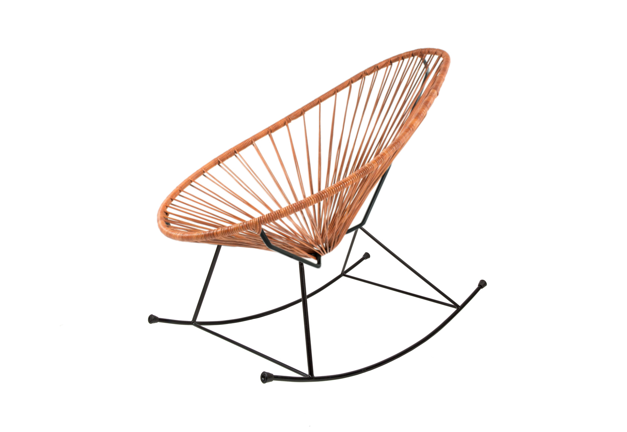 Outstanding Acapulco Chair Rocking Leather Cognac By Acapulco Design Caraccident5 Cool Chair Designs And Ideas Caraccident5Info