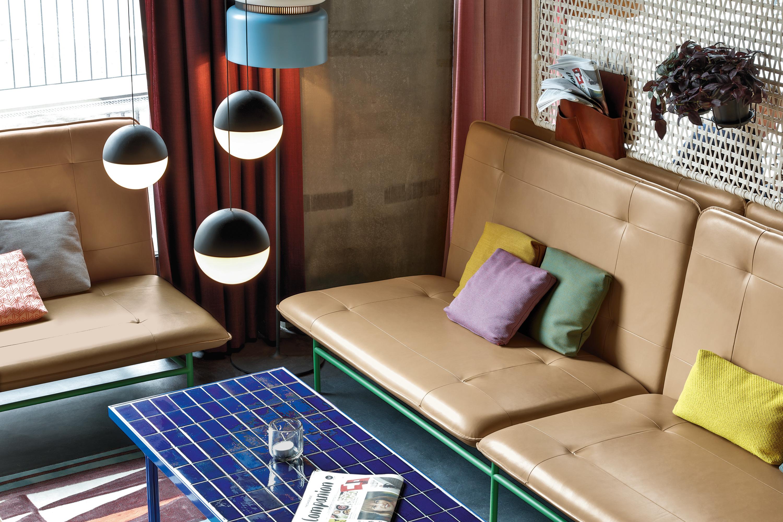 25hours Hotel Zürich Maßgeschneiderte Ledersofas Von Rolf Benz