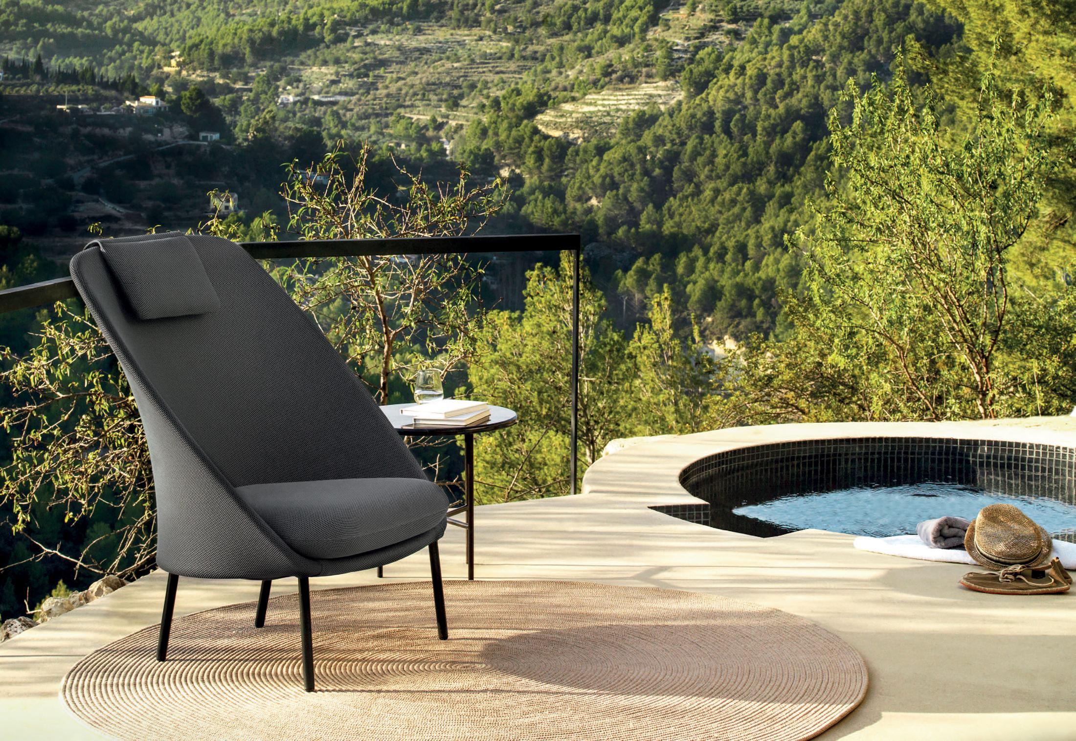 twins sessel mit hoher r ckenlehne c171 von expormim stylepark. Black Bedroom Furniture Sets. Home Design Ideas