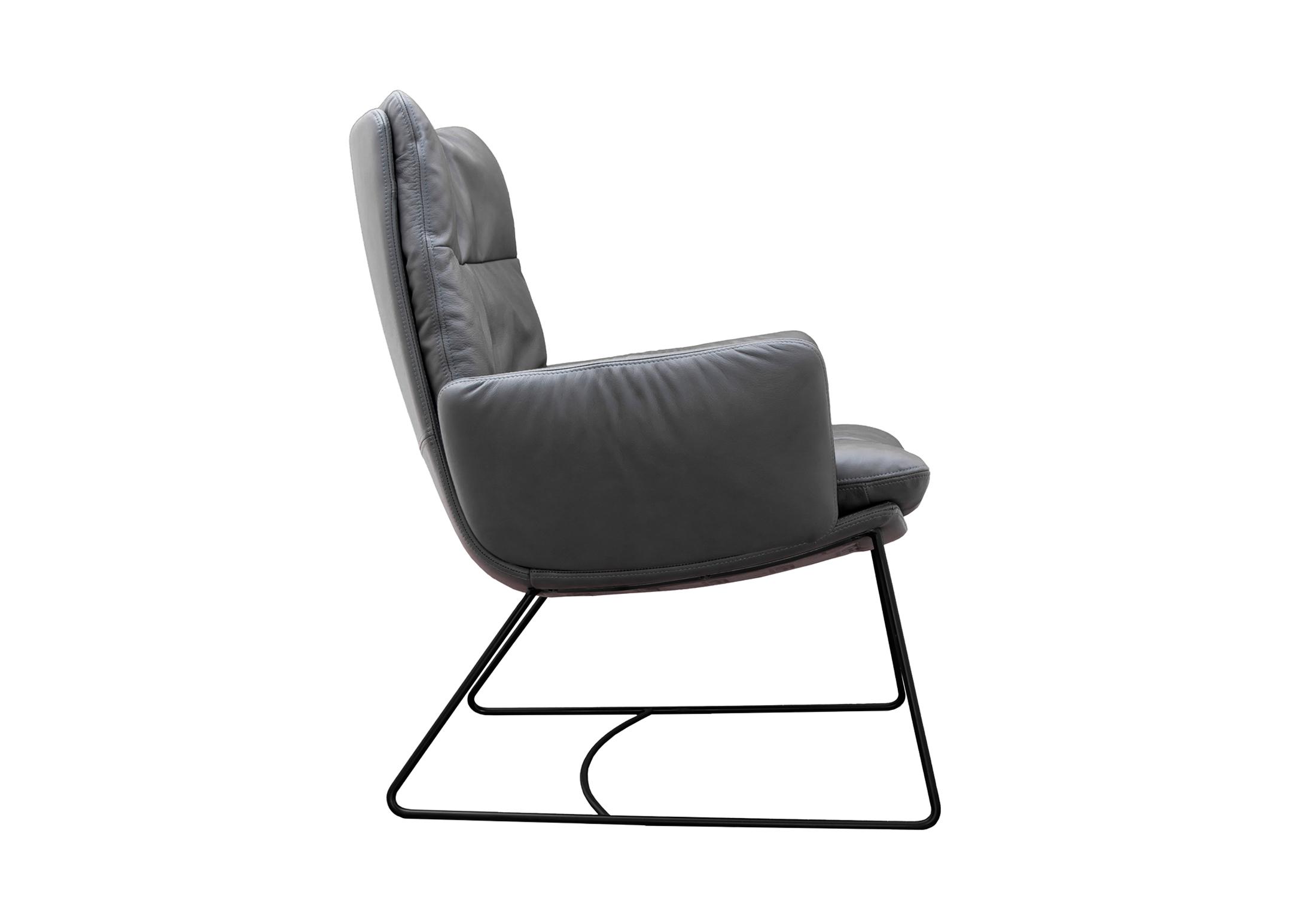 Lounge sessel  Arva Lounge Sessel mit Kufen von KFF | STYLEPARK