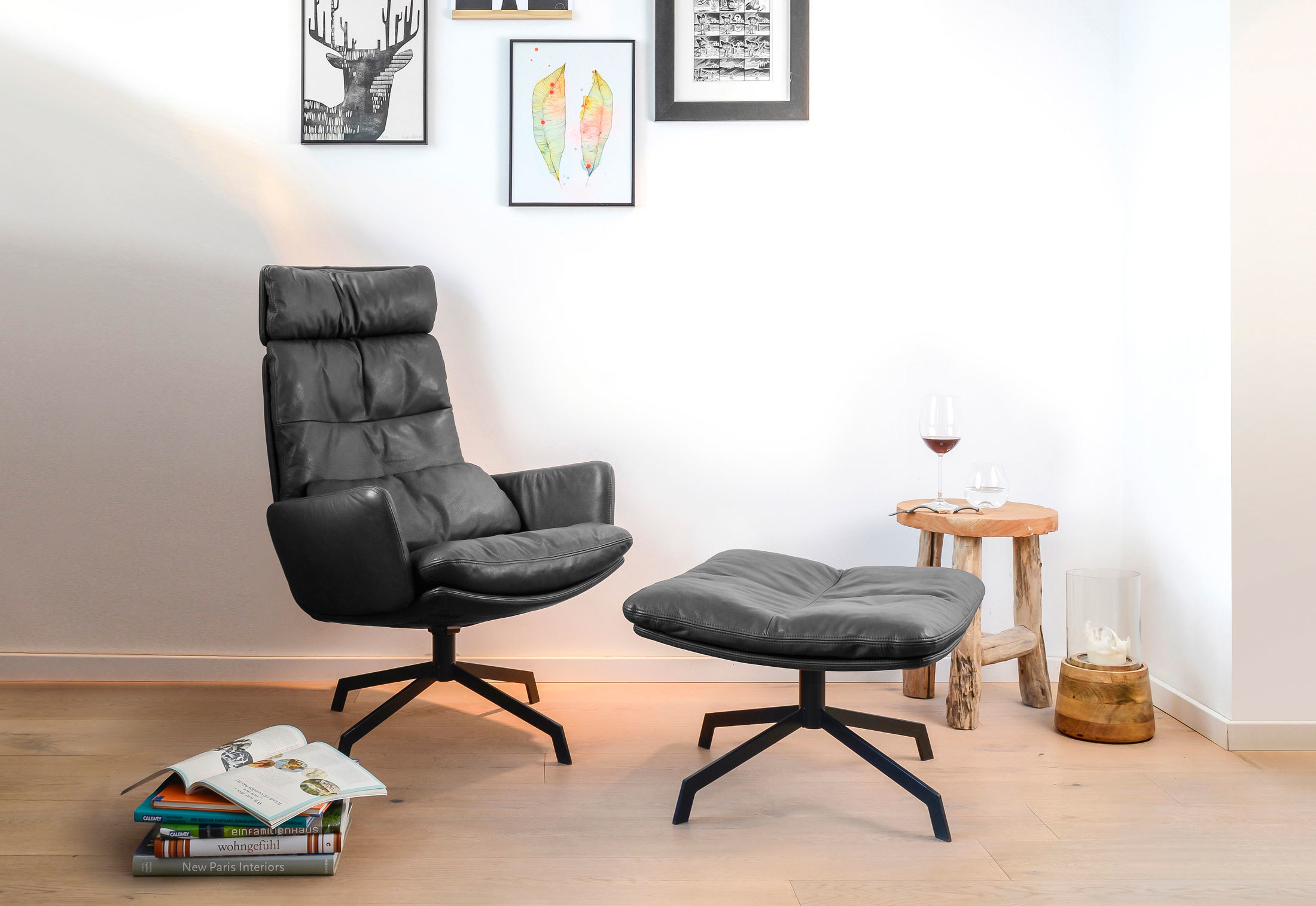 Arva Lounge lounge chair by KFF | STYLEPARK