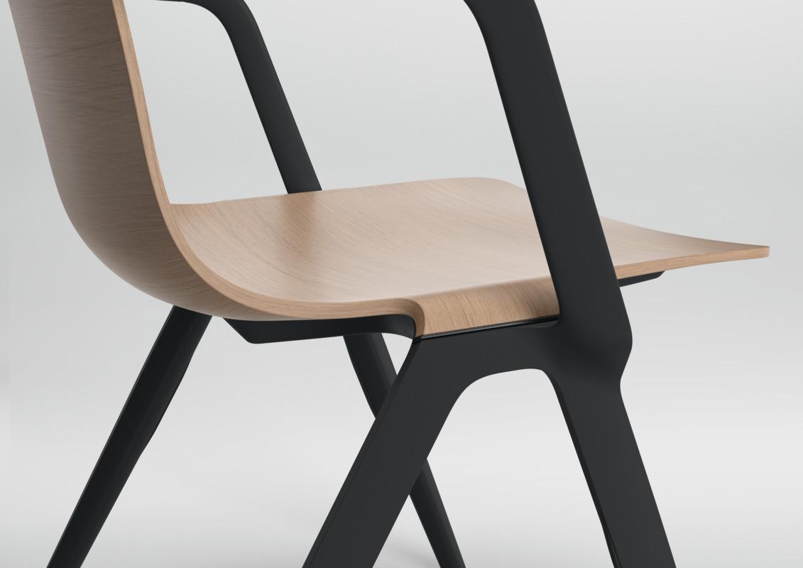 A-Chair 9707/A von Brunner | STYLEPARK
