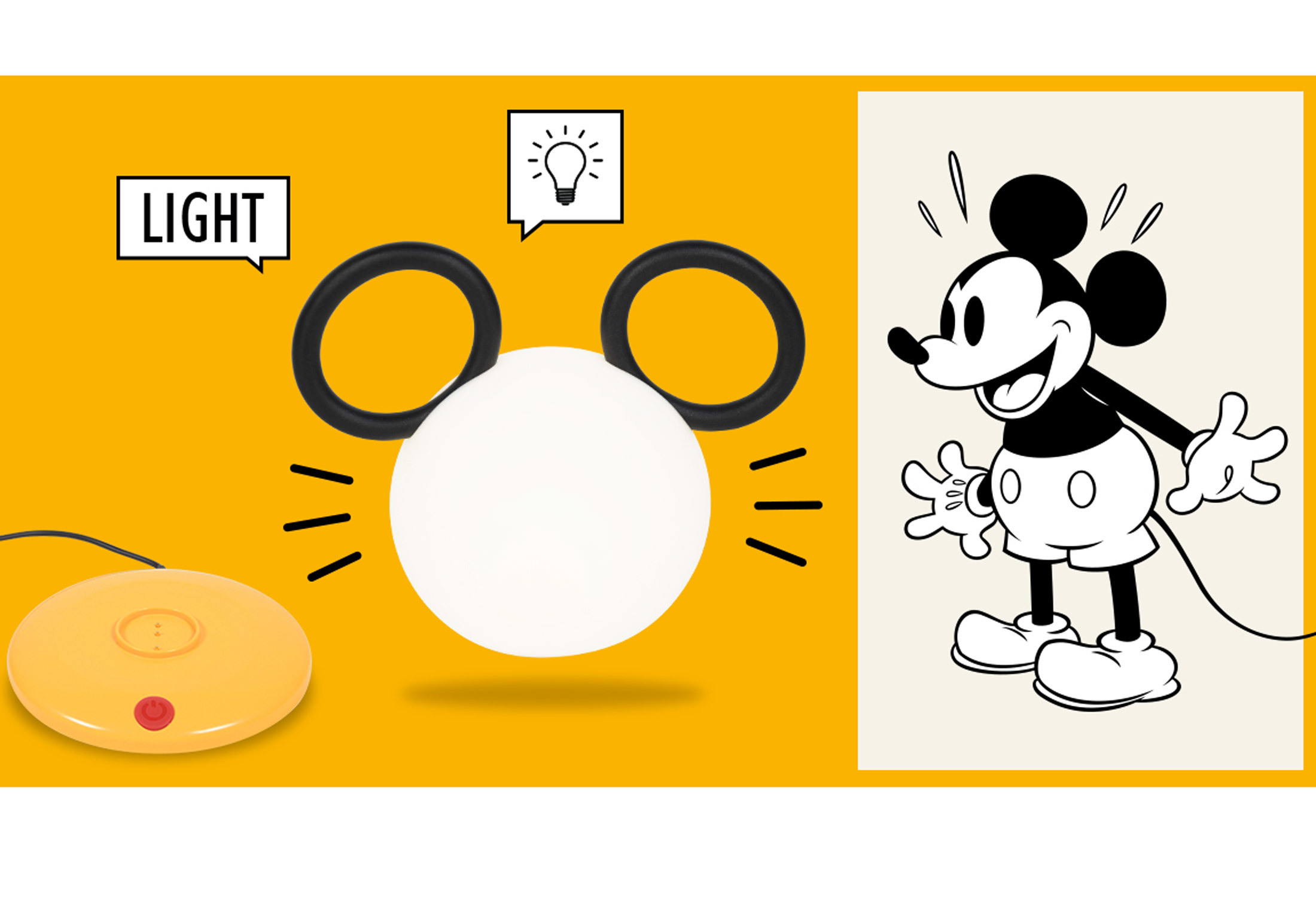 Lamp Mickey Mouse C By Fermob Stylepark