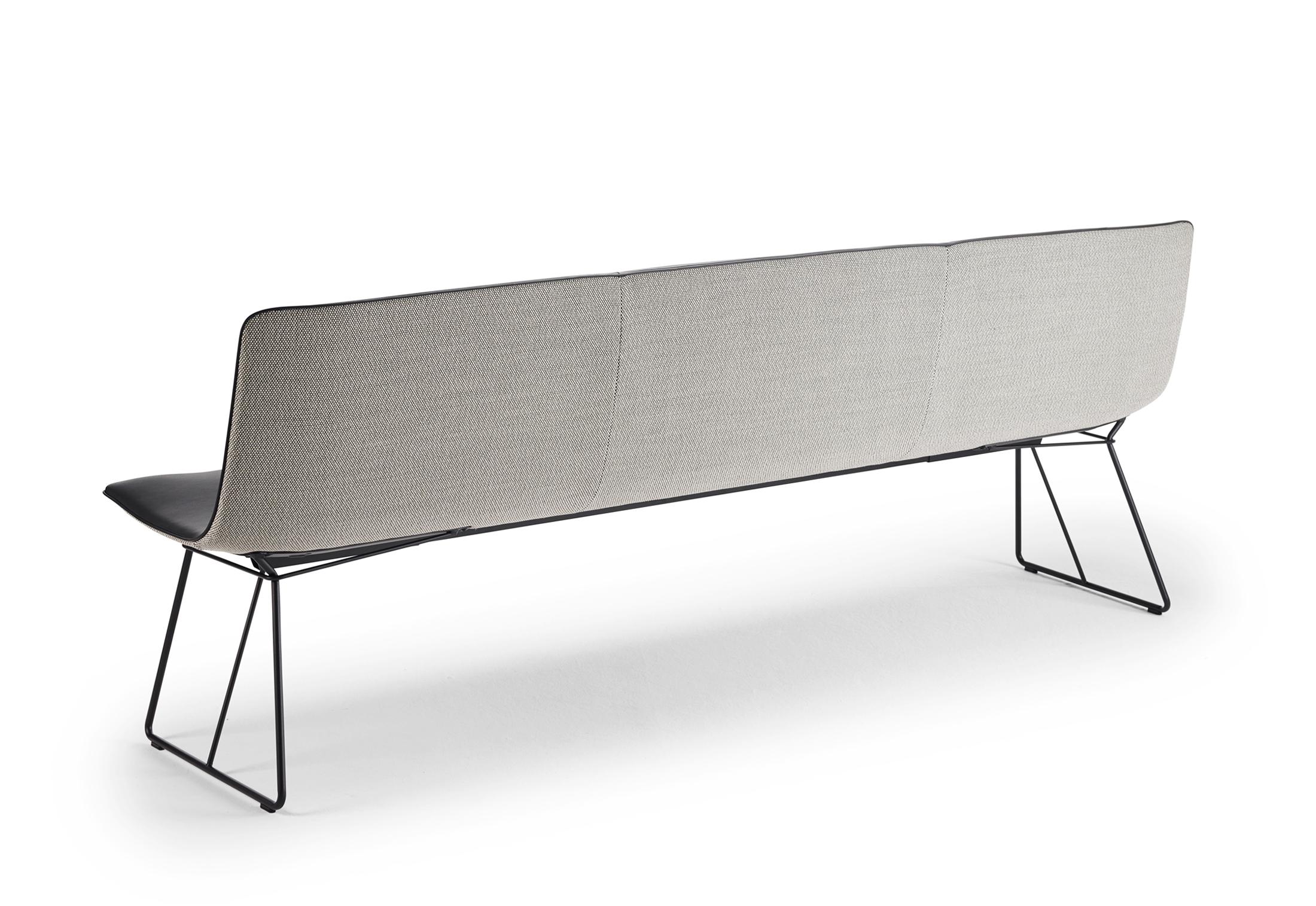 Amelie bench with wire frame by Freifrau | STYLEPARK