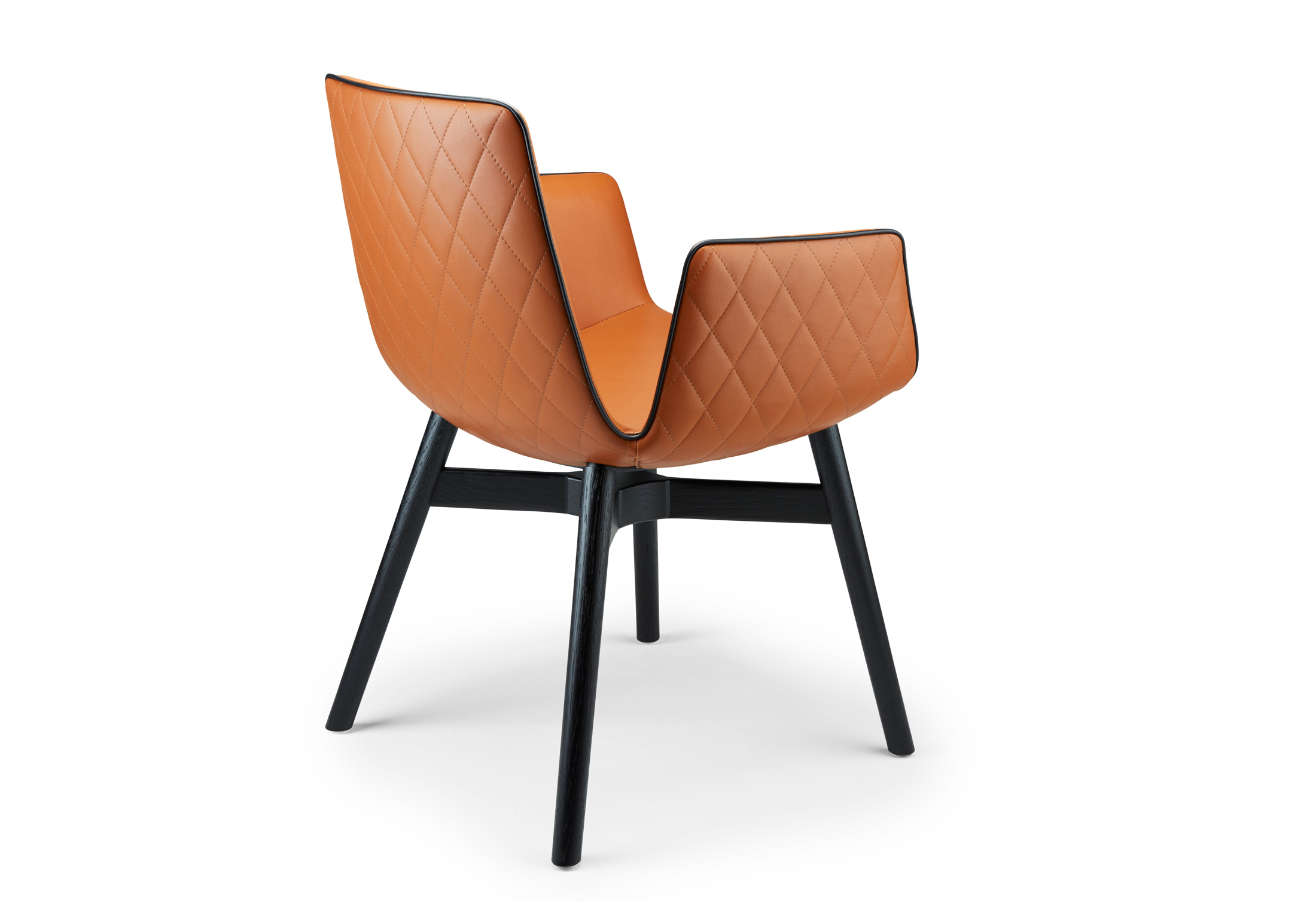 Amelie armchair with wooden frame cross by Freifrau ...