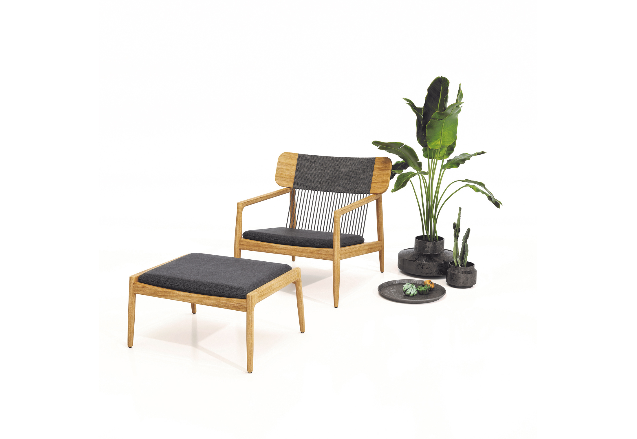 Archi Lounge Chair By Gloster Furniture Stylepark