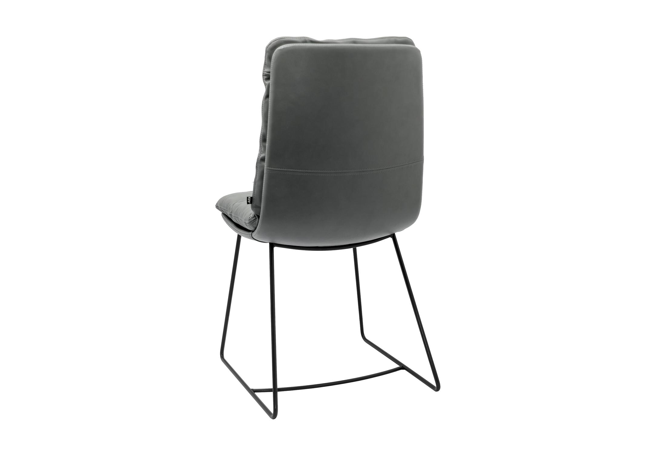 Arva stuhl mit kufen von kff stylepark for Design stuhl mit kufen
