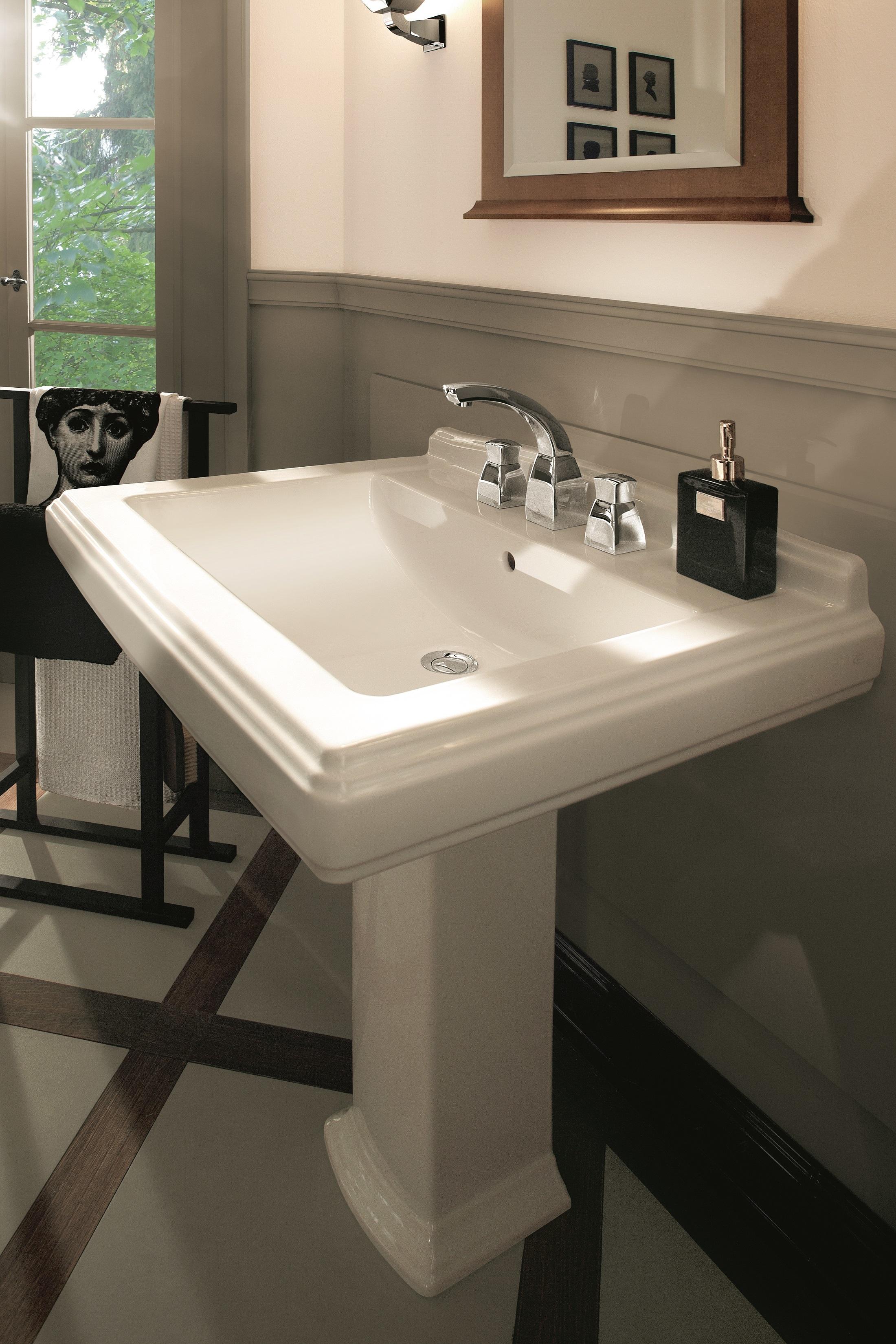 waschtisch hommage 710175 von villeroy boch bad. Black Bedroom Furniture Sets. Home Design Ideas