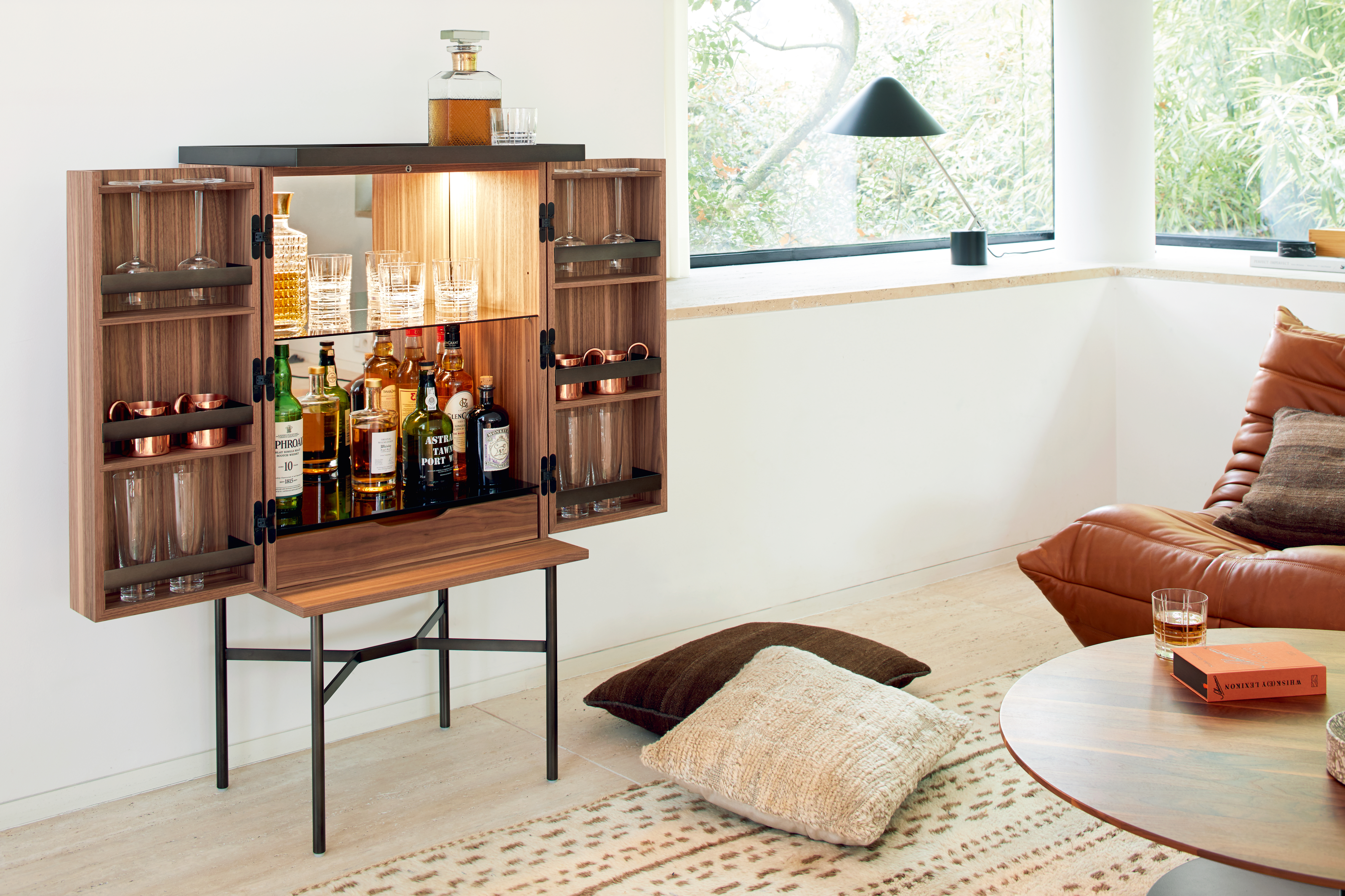 HARRI bar cabinet by [more] | STYLEPARK