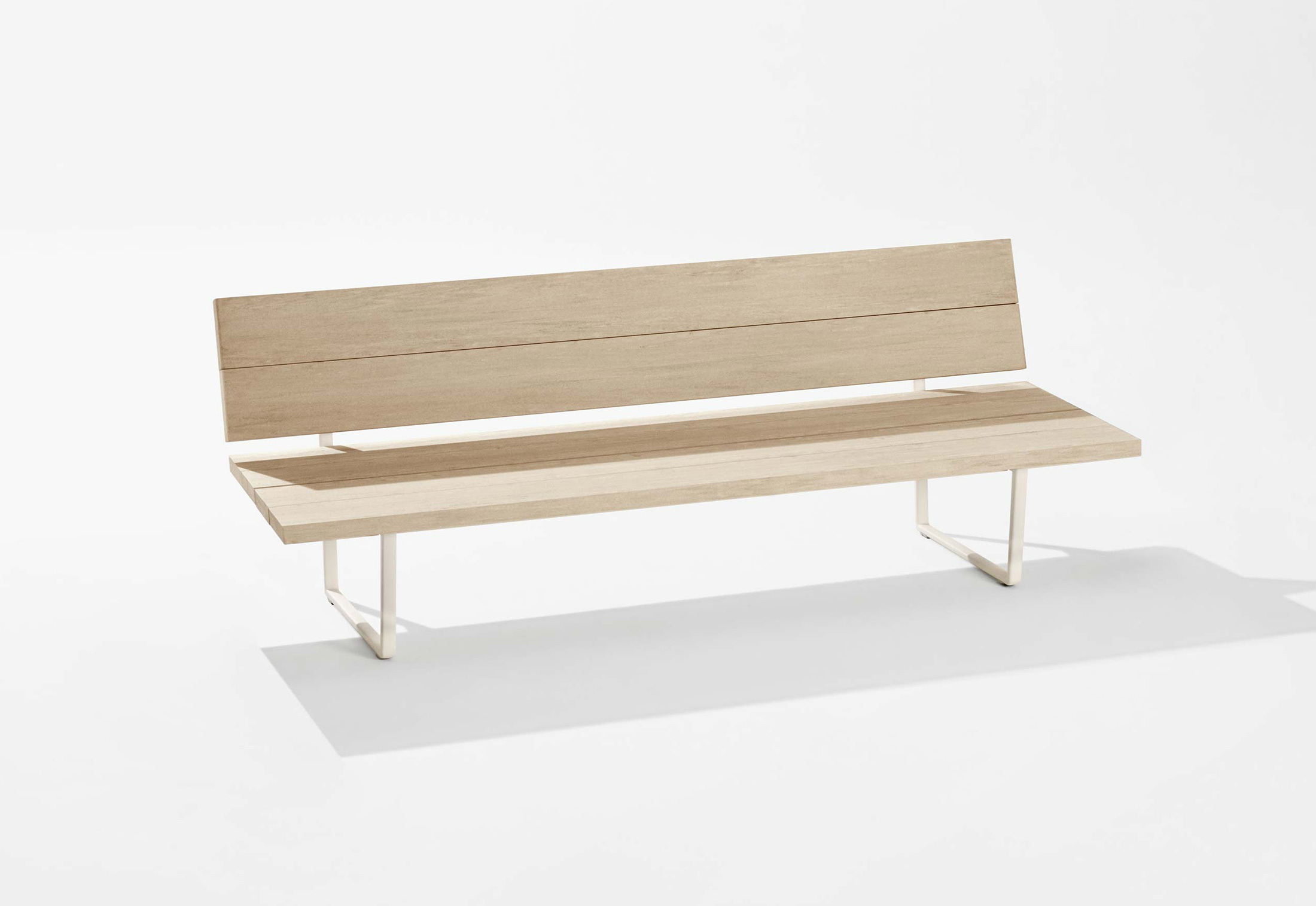 Sensational New Wood Plan Bench With Backrest By Fast Stylepark Pabps2019 Chair Design Images Pabps2019Com