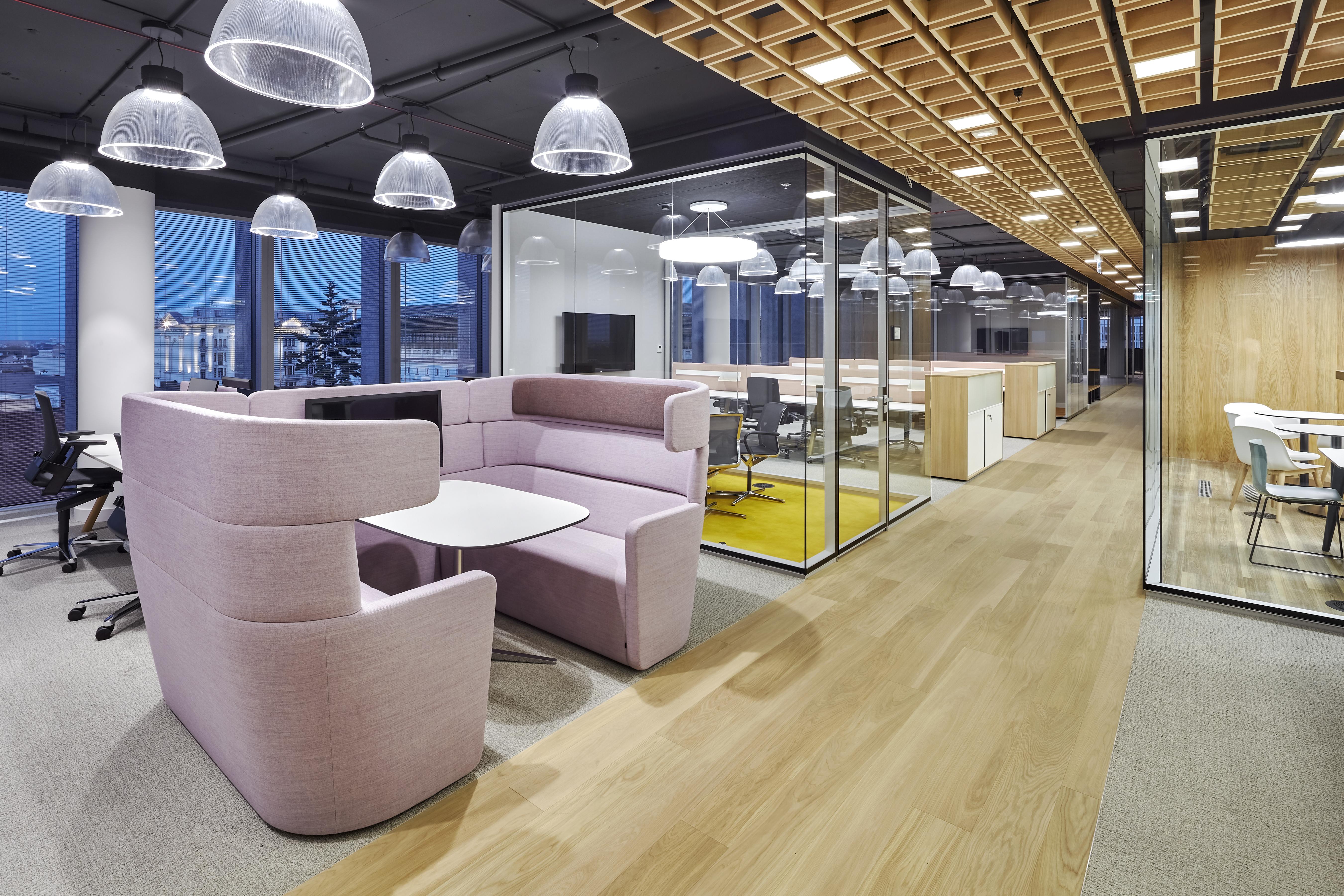 Bene hat die Firmenzentrale von CCC in Warschau eingerichtet ...