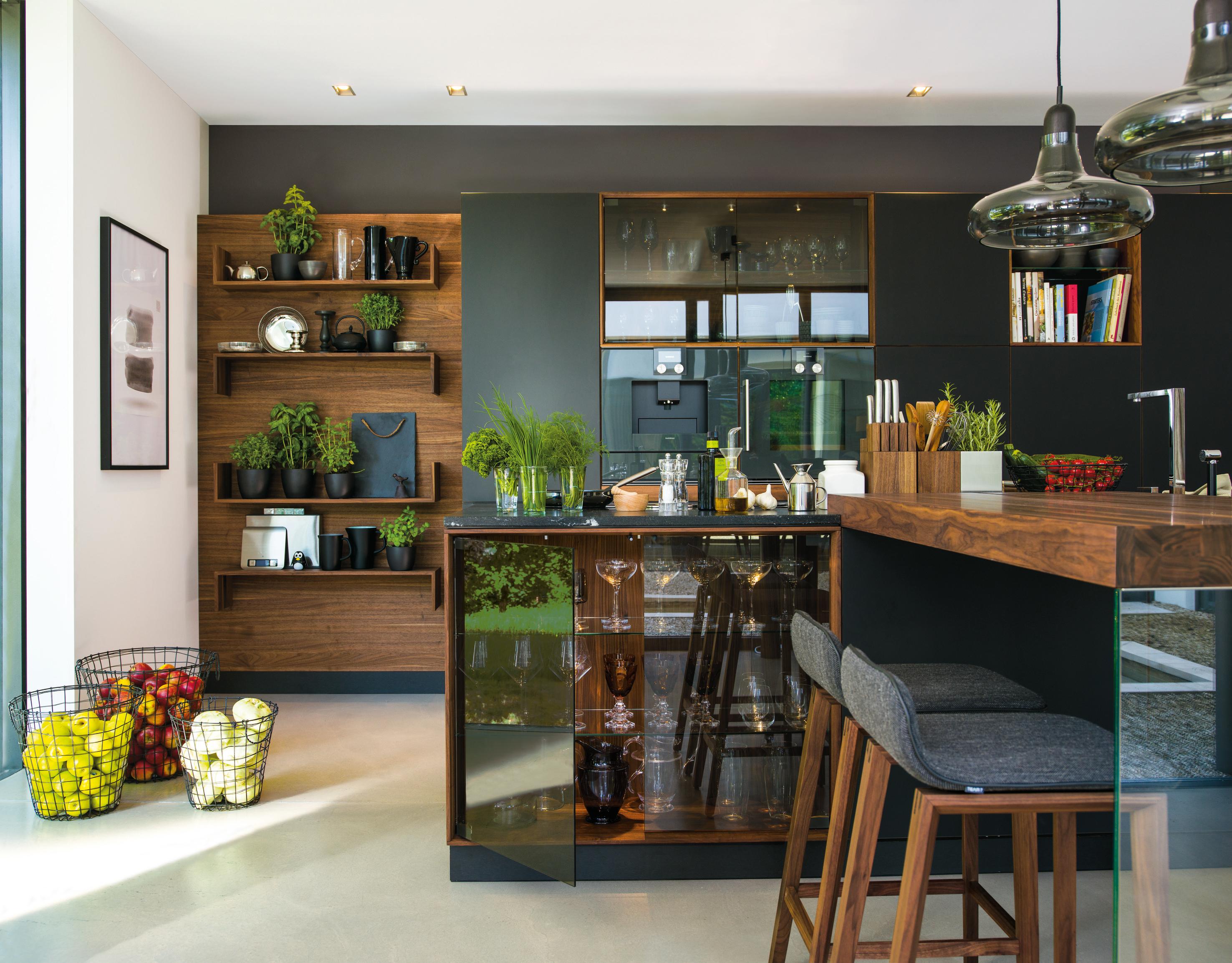 black line k che von team 7 stylepark. Black Bedroom Furniture Sets. Home Design Ideas