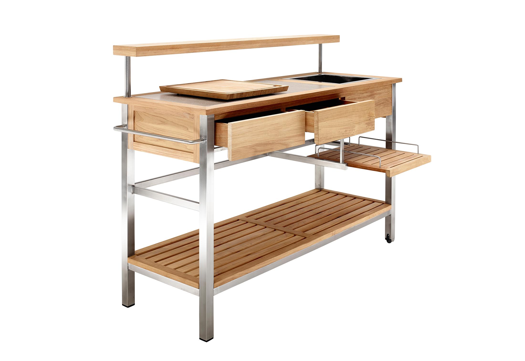 Outdoor Küchenwagen : Outdoor küche schrank küchenwagen mdf servierwagen küchen