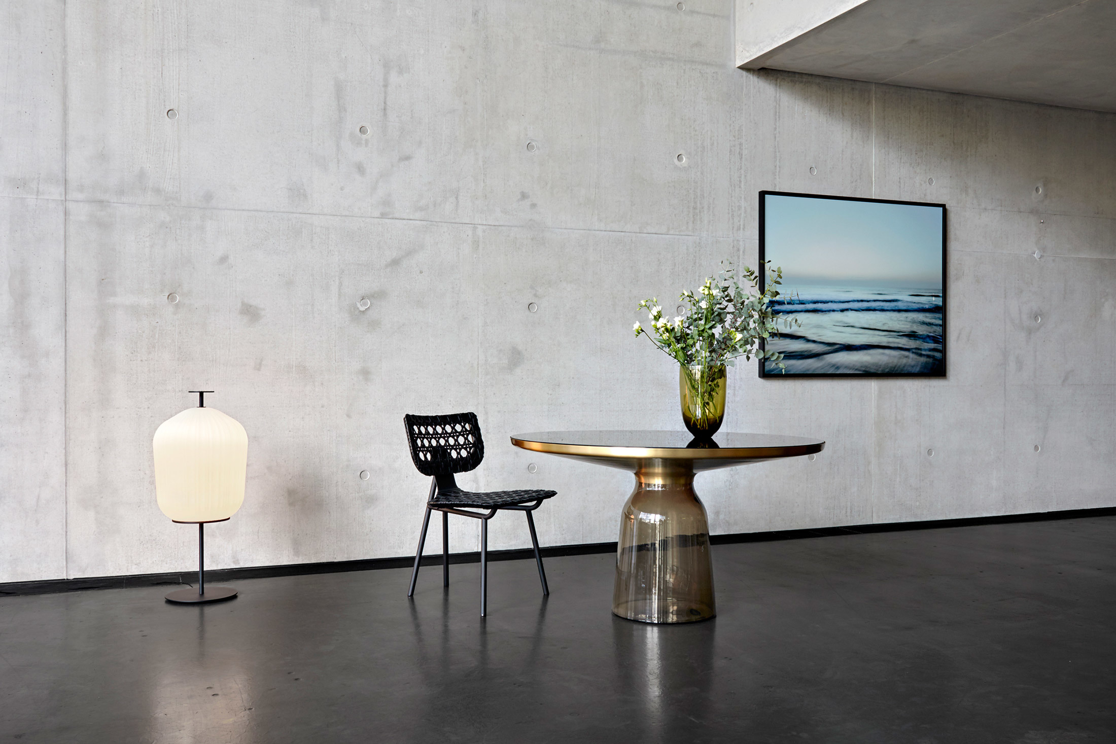 Plissée Floor Lamp Von Clicon