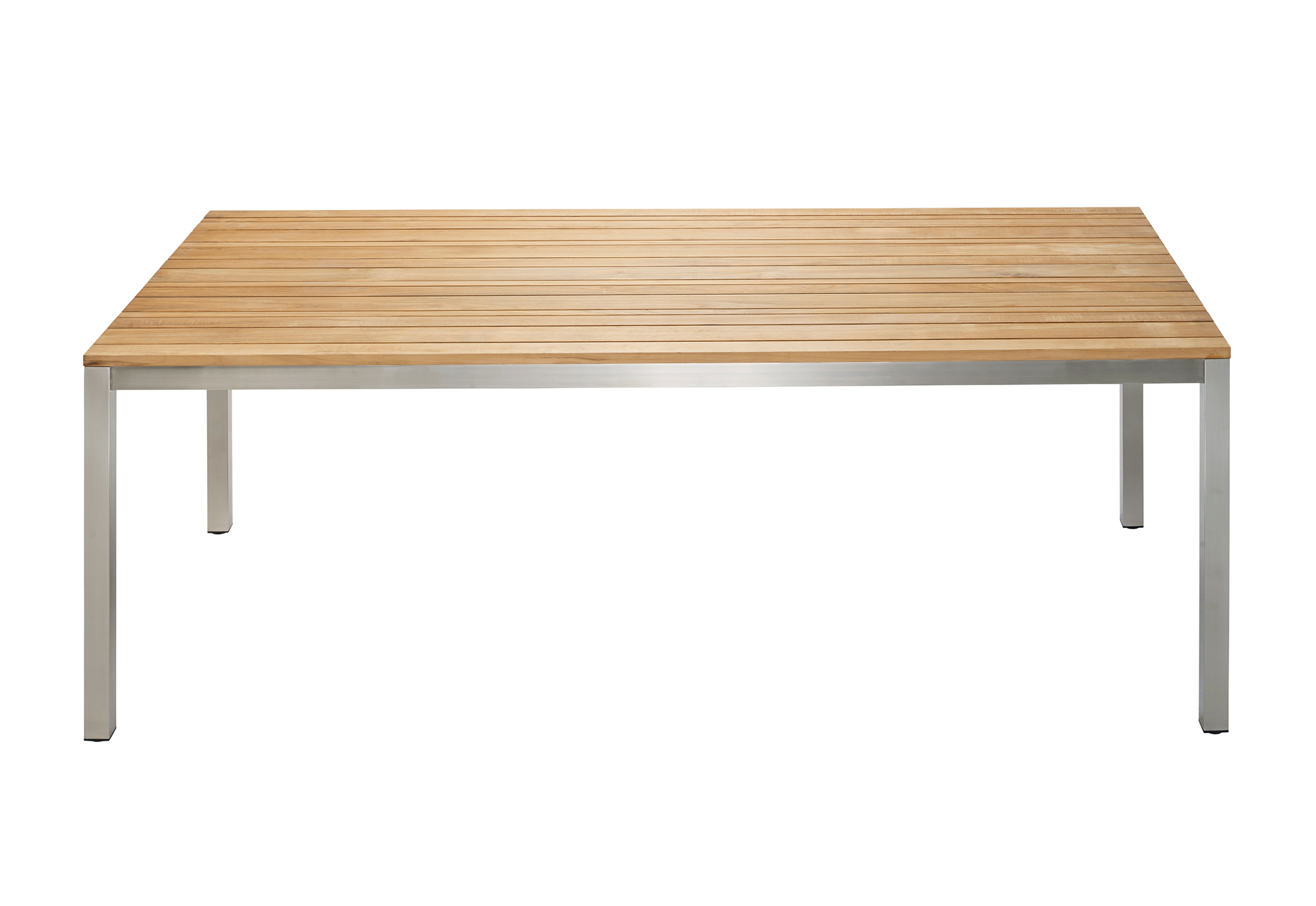 Classic Stainless Steel Dining Table By Solpuri Stylepark