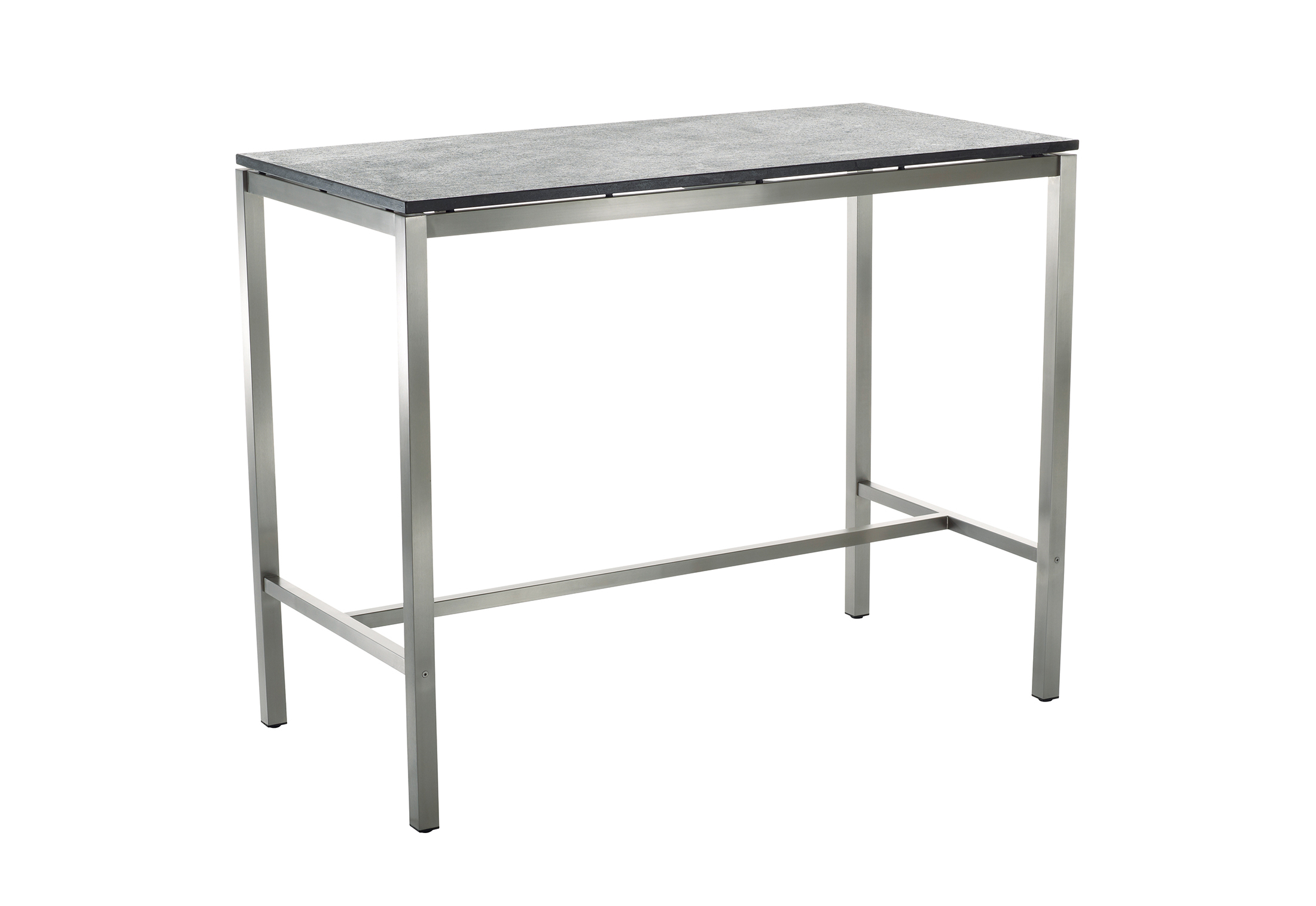 Clic Stainless Steel Bar Table
